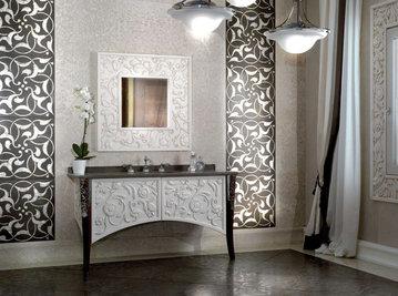 Итальянская мебель для ванных Saraya AB 606/FG фабрики ELLEDUE