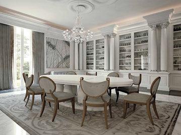 Итальянская гостиная Luxury Project фабрики ELLEDUE Композиция 02