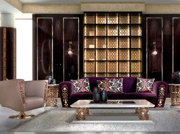 Итальянская мягкая мебель Saraya фабрики ELLEDUE Композиция 02