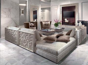 Итальянская мягкая мебель Saraya фабрики ELLEDUE Композиция 08