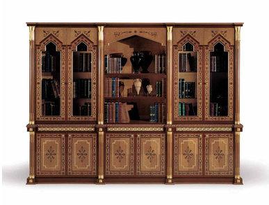 Итальянский книжный шкаф Almaty фабрики ELLEDUE
