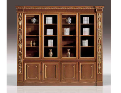 Итальянский книжный шкаф Louvre фабрики ELLEDUE