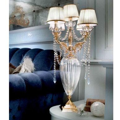 Итальянская настольная лампа 1744/G ORO фабрики IL PARALUME MARINA