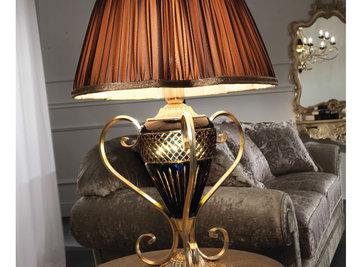 Итальянская настольная лампа ALADDIN 1880/BG фабрики MASCA