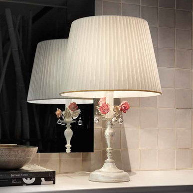 Итальянская настольная лампа CERAMIC GARDEN TL1 G фабрики MASIERO