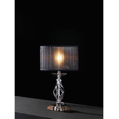 Итальянская настольная лампа ALICANTE Fume LP1 фабрики EUROLUCE LAMPADARI
