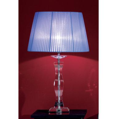 Итальянская настольная лампа ARCOBALENO LG1/Blue фабрики EUROLUCE LAMPADARI