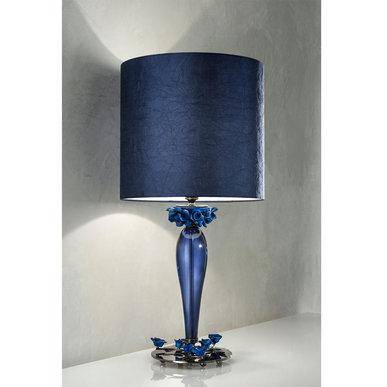 Итальянская настольная лампа BORA LG1/Blue фабрики EUROLUCE LAMPADARI