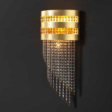 Итальянский бра DAFNE superlux A3/Gold фабрики EUROLUCE LAMPADARI