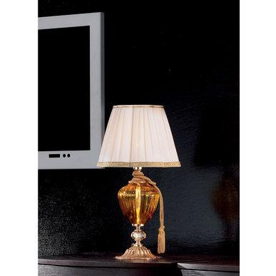 Итальянская настольная лампа DONATELLO LP1 фабрики EUROLUCE LAMPADARI