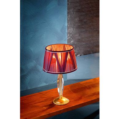 Итальянская настольная лампа FLORENTIA LP1/Gold фабрики EUROLUCE LAMPADARI
