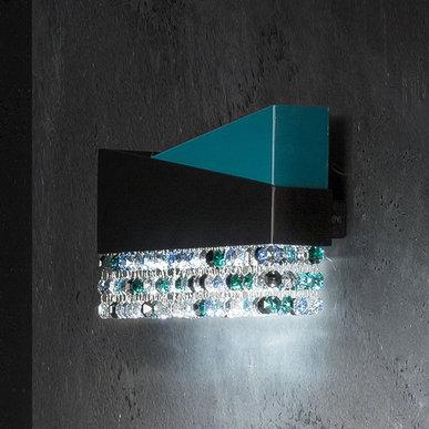 Итальянский бра HORIZON Lux 30AP/Blue фабрики EUROLUCE LAMPADARI