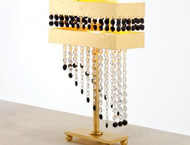 Итальянская настольная лампа HYDRA superlux LP1/Gold фабрики EUROLUCE LAMPADARI
