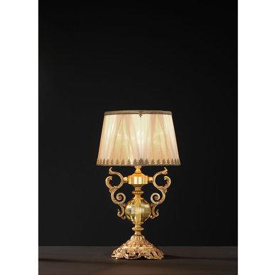 Итальянская настольная лампа LYRA LP1/Amber фабрики EUROLUCE LAMPADARI