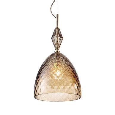 Итальянская люстра MOOD Serene S1/Brown фабрики EUROLUCE LAMPADARI