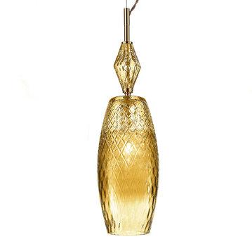 Итальянская люстра MOOD Rebel S1/Amber фабрики EUROLUCE LAMPADARI
