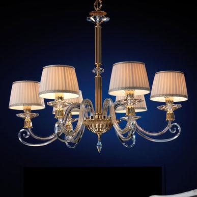 Итальянская люстра SIRIO L8 фабрики EUROLUCE LAMPADARI