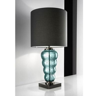 Итальянская настольная лампа VOGUE LG1/Green фабрики EUROLUCE LAMPADARI