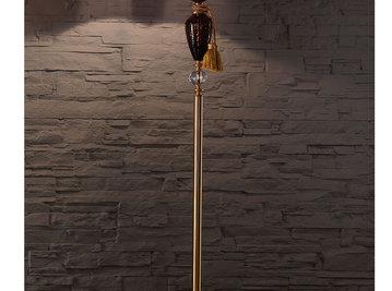 Итальянский торшер BAROCCO PT1/Violet-Gold фабрики EUROLUCE LAMPADARI