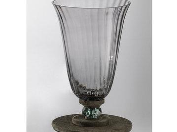 Итальянская ваза DAHLIA Vase/Grey фабрики EUROLUCE LAMPADARI