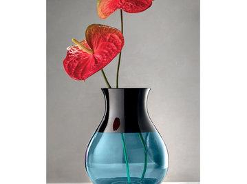 Итальянская ваза INFINITY Vase/Aquamarine фабрики EUROLUCE LAMPADARI