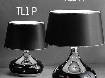 Итальянская настольная лампа GRACE TL1 P фабрики MASIERO
