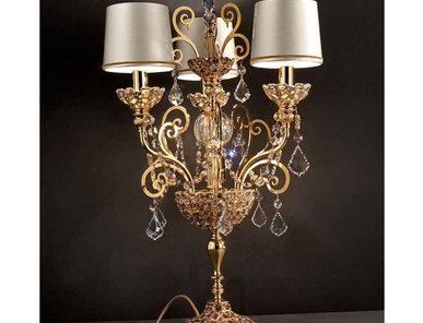 Итальянская настольная лампа IMPERIAL GOLD TL3 фабрики MASIERO