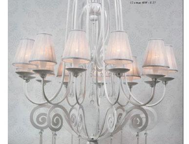 Итальянская люстра Medusa NCS 042/T Bianco фабрики JAGO