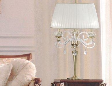 Итальянская настольная лампа Flower NCL 301 Oro фабрики JAGO