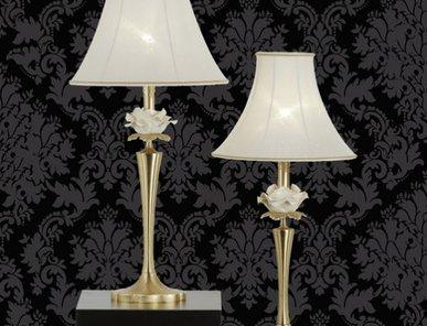 Итальянская настольная лампа Flower NCL 302 Oro фабрики JAGO
