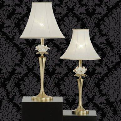 Итальянская настольная лампа Flower NCL 303 Oro фабрики JAGO