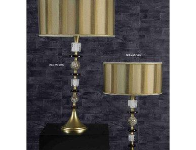 Итальянская настольная лампа Ghiaccio NCL 093/ORO фабрики JAGO