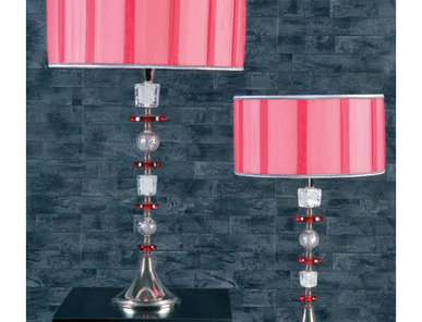 Итальянская настольная лампа Ghiaccio NCL 092/R фабрики JAGO