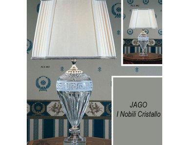 Итальянская настольная лампа I Nobili Cristallo NCL 002 фабрики JAGO