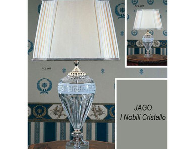 Итальянская настольная лампа I Nobili Cristallo NCL 003 фабрики JAGO