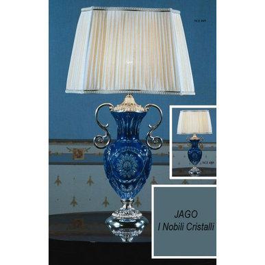 Итальянская настольная лампа I Nobili Cristallo NCL 049 фабрики JAGO