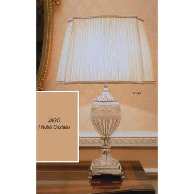 Итальянская настольная лампа I Nobili Cristallo NCL 062 фабрики JAGO