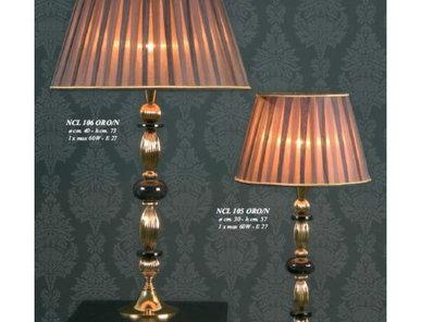 Итальянская настольная лампа Ovalini NCL 106 ORO/N фабрики JAGO
