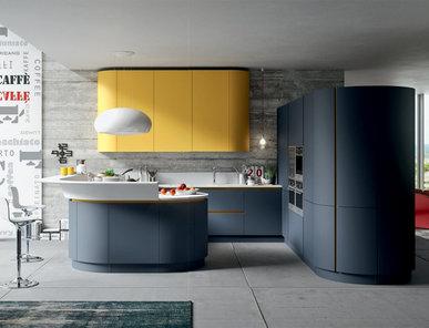 Итальянская кухня Progetto sistema legno 04 фабрики AR-TRE