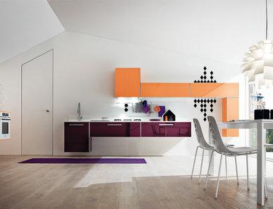 Итальянская кухня Progetto sistema telaio alluminio 02 фабрики AR-TRE