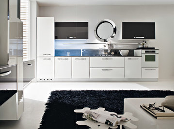 Итальянская кухня Progetto sistema telaio alluminio 04 фабрики AR-TRE