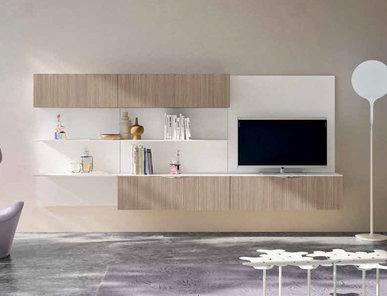 Итальянская мебель для ТВ Smart 03 фабрики SPAGNOL CUCINE