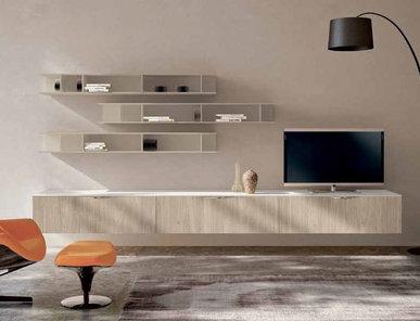 Итальянская мебель для ТВ Smart 04 фабрики SPAGNOL CUCINE