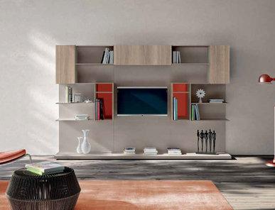 Итальянская мебель для ТВ Smart 05 фабрики SPAGNOL CUCINE