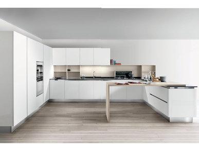 Итальянская кухня ABSOLUTE WHITE фабрики SPAGNOL CUCINE