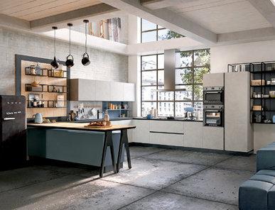 Итальянская кухня THE URBAN LOFT фабрики SPAGNOL CUCINE