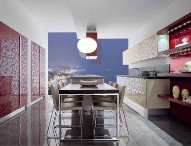 Итальянская кухня New Aluminia 02 фабрики SPAGNOL CUCINE