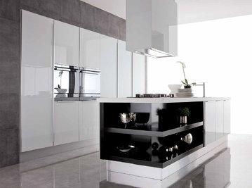 Итальянская кухня New Aluminia 03 фабрики SPAGNOL CUCINE