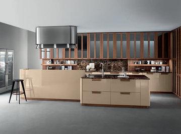 Итальянская кухня NOISETTE 01 фабрики COMPOSIT