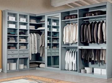 Итальянская гардеробная фабрики TESSAROLO Композиция 02